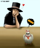 Rob Lucci - The Ultimate Evil by Thrior
