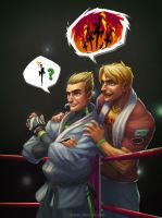 Ken and Mel by shubacca