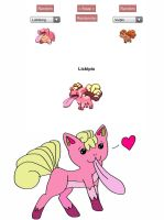 Pokemon Fusion: Lickipix by goddess-madoka