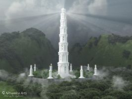 Ivory Tower of Merlon Dras by OfTheDunes