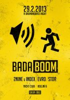 BADABOOM party flyer preview by 2NiNe