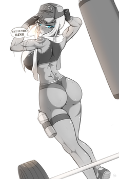 Warm UP (Muscle Practice w/Leona - Ver. 1) by Fatelogic