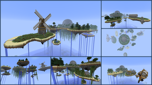 My floating islands by TERRORPOOH