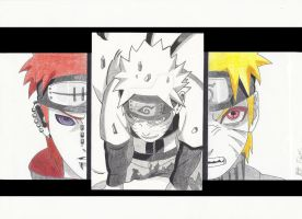 Pain vs Naruto by MTEvans