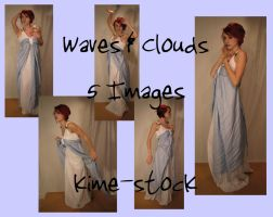Waves and Clouds by kime-stock
