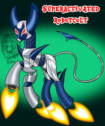 MLP/Robotboy- Superactivated Robotcolt by TheBig-ChillQueen