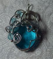 Wire pendant 169 by Kimantha333