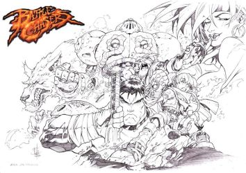 Battle Chasers Cover#1 by godmercys