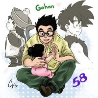 Gohan day by camlost