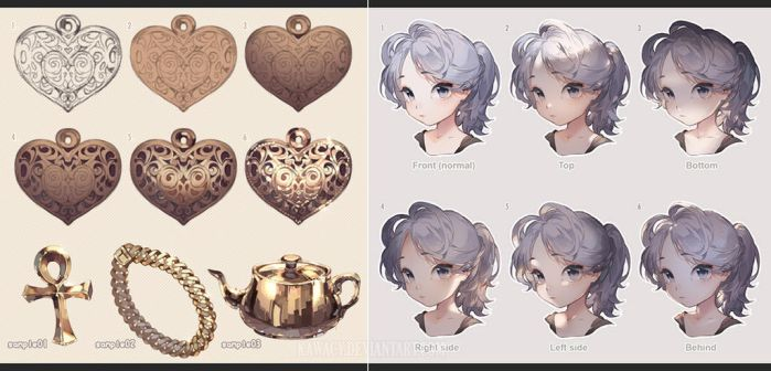 Gold vs Face Lighting by kawacy
