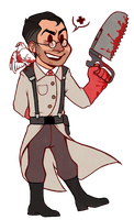 Medic chibi (RED) by Astral-Glass