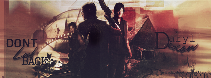 Daryl Dixon Cover. by FDoqus