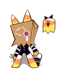 Cookie run OC : Candy corn cookie by MorpangII