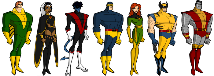 The Uncanny X-men Bruce Timm style by grego23