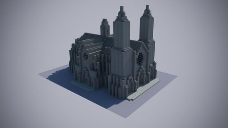 Catedral Minecraft by andrei030
