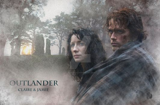 OUTLANDER, Claire and Jamie