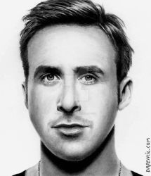 Ryan Gosling by Doctor-Pencil