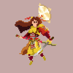 Amaterasu PixelArt by dani020110
