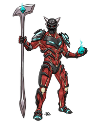SPL: Red Oni by ProdigyDuck