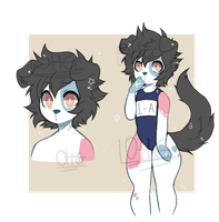 Canine Beb - Anthro Adopt Auction [CLOSED] by OperaHouseGhost