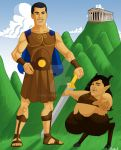 Hercules for Rebecca by Timetower