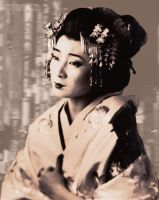 Geisha by wickedicemaiden