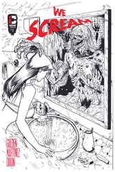 We Scream COVER LETTERED by JTDixon