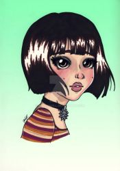 Mathilda (Leon: The Professional) by Youngneill