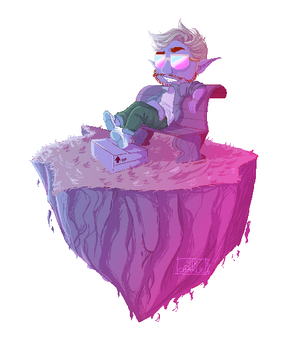 Chillin' [Pixel Art] by Sir-Charlie