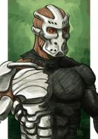 Daily Sketches Jason X Uber by fedde