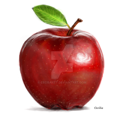 Apple by Cecisartt