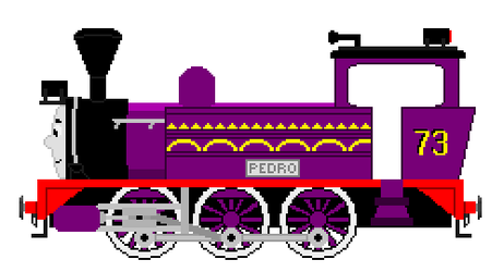 Pedro The Filipino Tank Engine by JamesFan1991