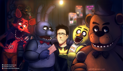Markiplier is the King of Five Nights at Freddy's! by rydi1689