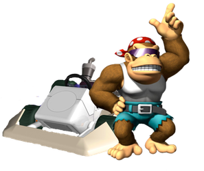 Funky Kong by Galaxy-Afro