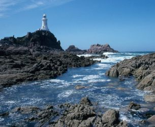 St Corbiere Lighthouse. Jersey. 1988 by MartynWright