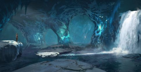 Ark: Ice Cave by SebastianKowoll