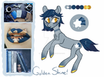 Moodboard Pony Adopt [CLOSED] Golden Shine by JellyBeanBullet