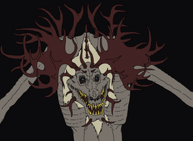 Grandpa Wendigo by Redspets