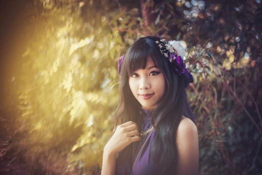 Purple Dream by RiiNa-Chou