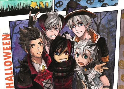 Elsword - This is Halloween! by Miimiya