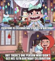 Star Butterfly 15th Birthday party but......... by Prince-riley