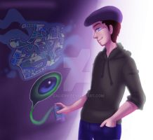 SwagSepticEye (JackSepticEye) - Graffiti by GaliCry