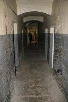 Prison corridor by puncturedbicycle