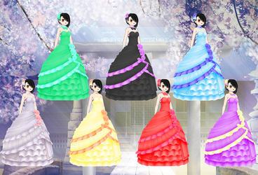 Wedding Outfit pack by Daiger1975