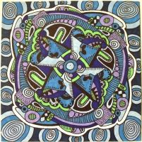 Blue Mandala by mintdawn