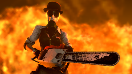 Mrs Foster's Chainsaw massacre time by TheImperialCombine