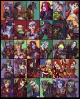 30 WoW Portraits pt2 by emily-lorange