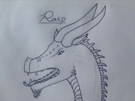 Dragon- Rasp by TheGreenNightingale