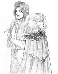 Razin and Javanshin by raerae
