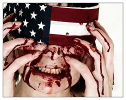 -america the blind- by fangedfem